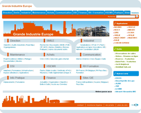 ACSO intranet website creation 78 Air Liquide